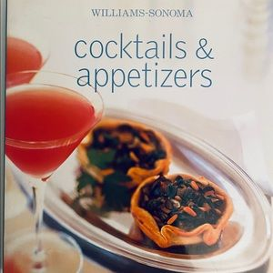 Cookbook - Williams Sonoma Cocktails & Appetizers